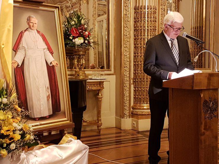 «Célébration» OPLATEK de la Fondation Jean-Paul II