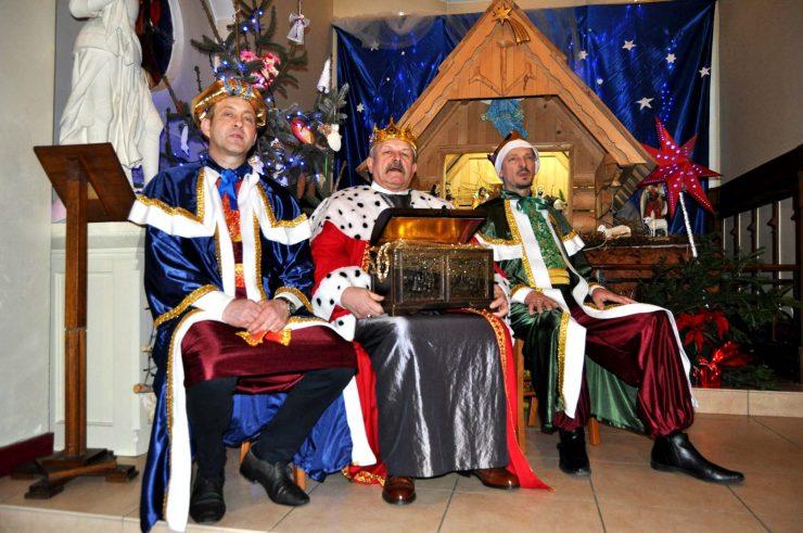 Koncert kolęd w polskiej parafii w Aulnay sous Bois, Francj