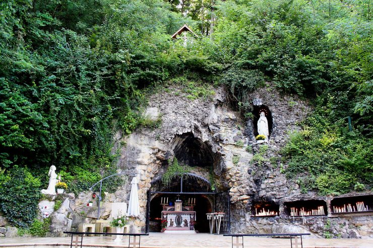 Blessed Virgin Mary from Lourdes
