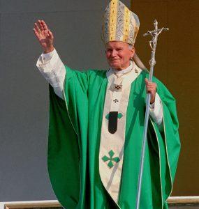 Spoglądał na Rzym i mu błogosławił.