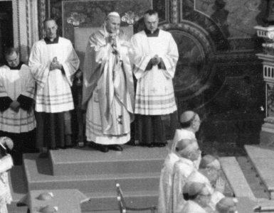 Pierwsza rzecz, którą Jan Paweł II zrobił po wyborze na papieża